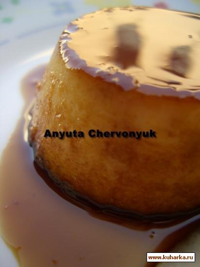 Рецепт Яблочный флан ( Flan de manzana)