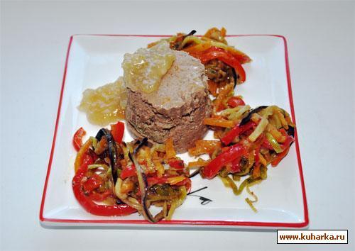 Рецепт Паштет из куриной печени с вином и перцем