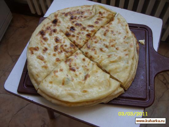 Рецепт Хычины (с домашним сыром и картофелем)