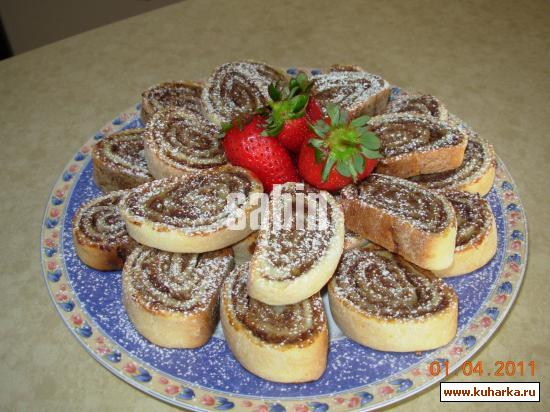 Рецепт Финиковое печенье из сметанного теста