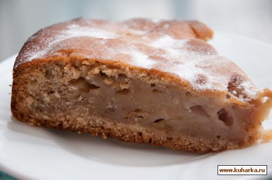 Рецепт Медово-грушевый пирог