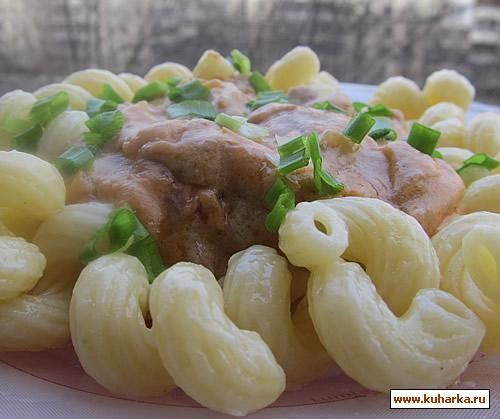Рецепт Вкусная подливка с тушенкой