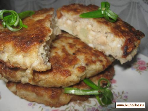 Рецепт Котлеты из рыбных консервов