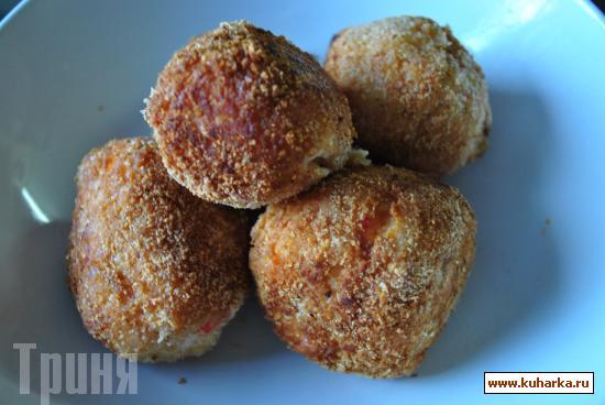 Рецепт Горячие крабовые шарики