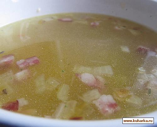 Рецепт Картофельный суп с краковской колбаской