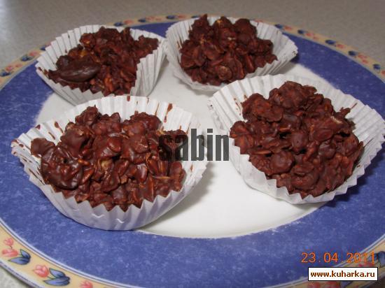 Рецепт Граноловые (мюсли) конфеты - супер легкие