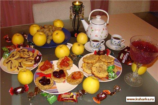 Рецепт Корзиночки с вареньем