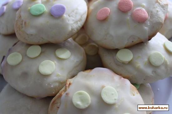 Рецепт Лимонное печенье с рикоттой