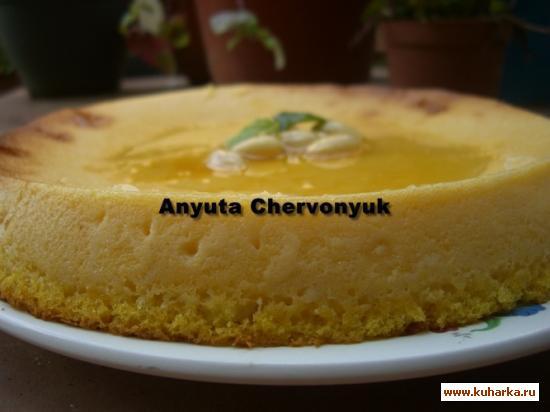 Рецепт Тыквенный пудинг (Pudding dyniowe)