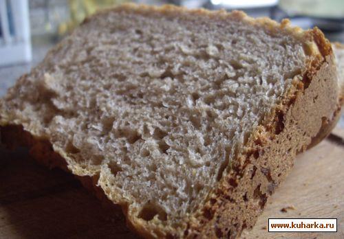 Рецепт Вкусный серый хлеб