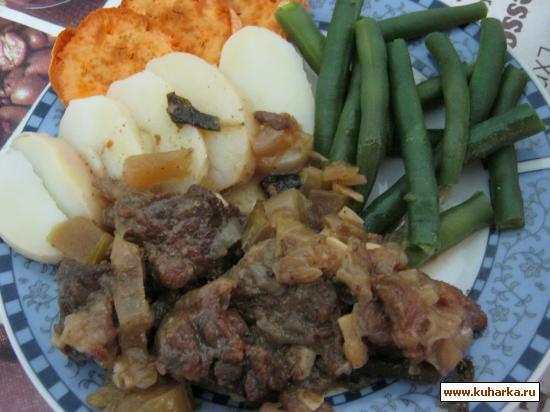 Рецепт Пряная говядина