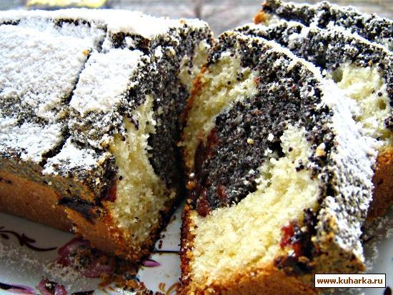 Кекс с маком рецепт с фото