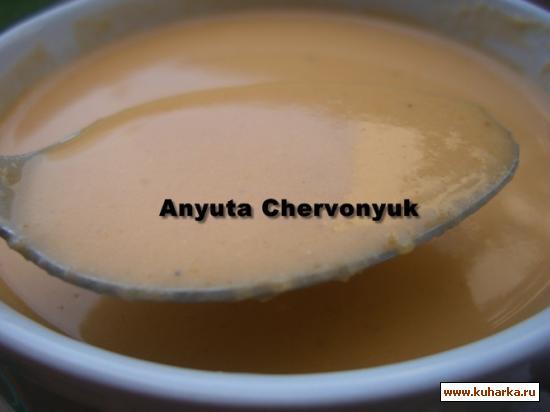 Рецепт Суп-крем из креветок (Crema de marisco).