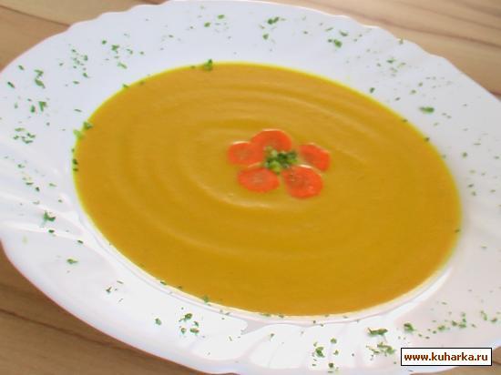 Рецепт Морковный супчик