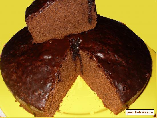 Рецепт Кекс с красным вином (Torta nera al vino rosso )
