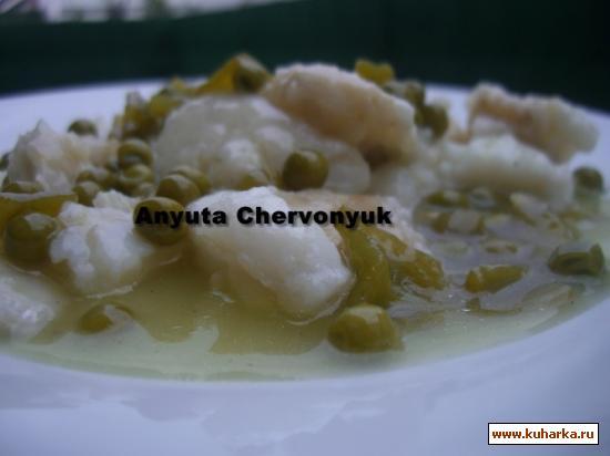 Рецепт Жаренная треска с лимонным соусом.