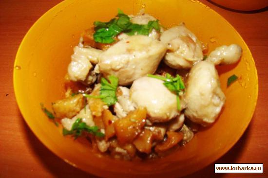 Рецепт Жареные бараньи яйца с курдюком