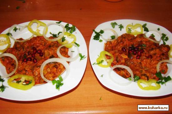 Рецепт Почки в огуречном соусе
