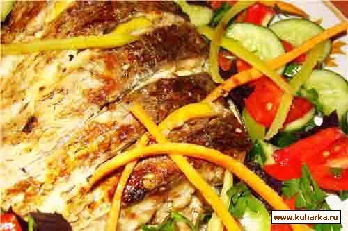 Рецепт Рыба, под сметанно-майонезным соусом