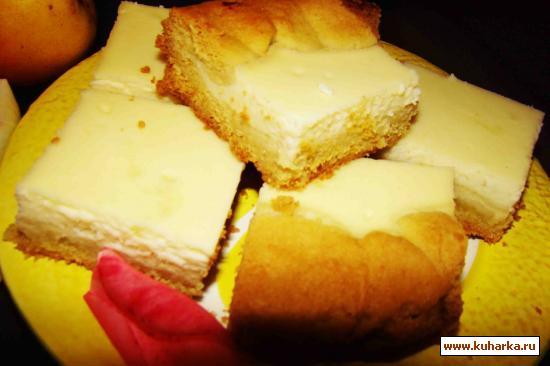 Рецепт Песочно-творожный пирог