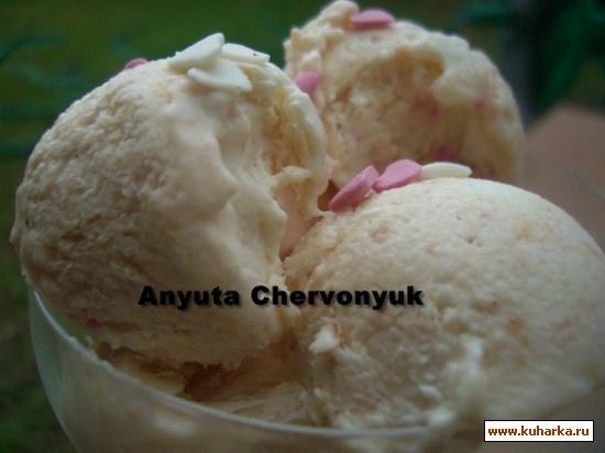 Рецепт Cливовое мороженое со специями.