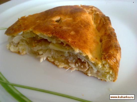 Рецепт Бабушкин курник