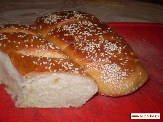 Рецепт Багет на сметане