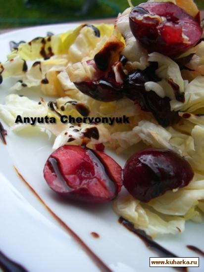 Рецепт Капустный салат с черешней (Cherry Coleslaw)