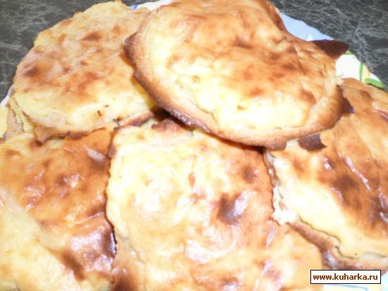 Рецепт Калитки картофельные