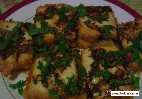 Рецепт Жаренный тофу