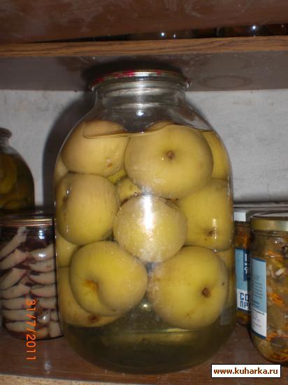 Рецепт Яблоки на зиму