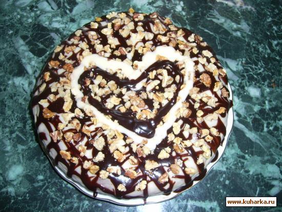 Рецепт Легкий тортик