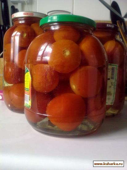 Рецепт Мамины помидоры