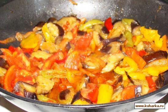 Рецепт Овощи под соусом терияки