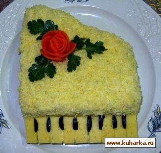 "Рецепт Салат ""Белый рояль"""