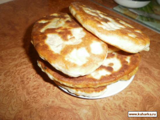 Рецепт Пирожки жареные домашние