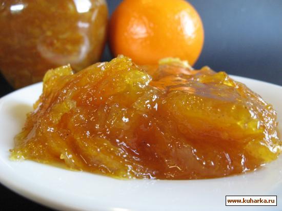 Рецепт Апельсиновый конфитюр (marmajam).