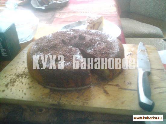 Рецепт Бананово-шоколадный кухэ