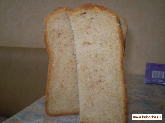 Рецепт Хлеб на сыворотке с добавлением яблока