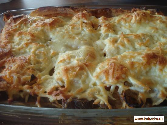 Рецепт Мусака с телятиной и овощами