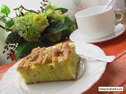 Рецепт Яблочный пирог по бабушкиному рецепту