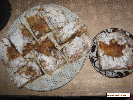 Рецепт Ленивая шарлотка
