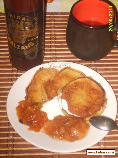 Рецепт Тыквенные оладушки