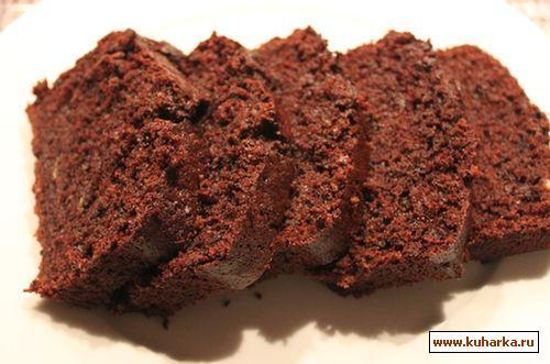 Рецепт Шоколадный кекс с цуккини