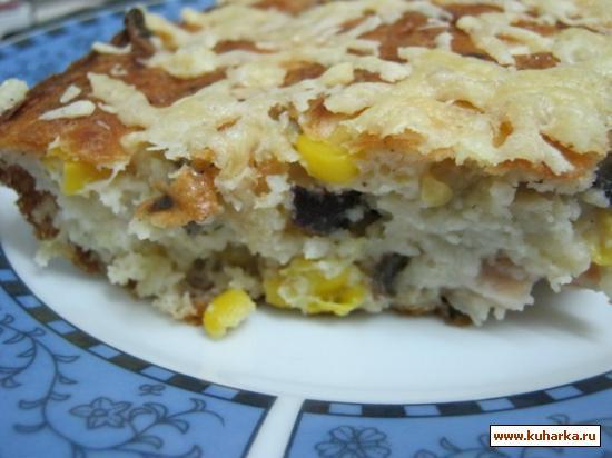 Рецепт Запеканка-пирог