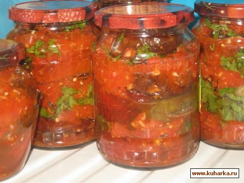 Рецепт Болгарский перец с острой приправой