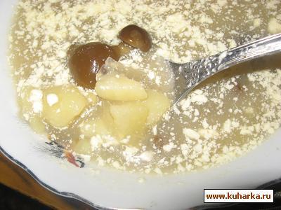 Рецепт Суп грибной из опят