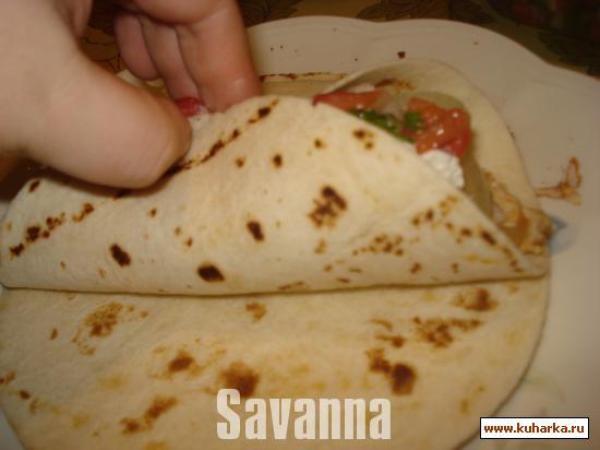 Рецепт Фахитас с курицей (Chicken fajitas)