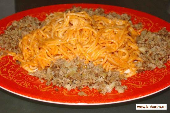 Рецепт Спагетти, почти по-итальянски 2