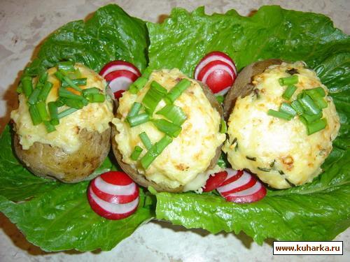 Рецепт Картофельное суфле с сыром